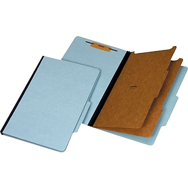 Staples® 100% Recycled Classification Folders