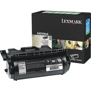 Lexmark T640/644 Black Toner Cartridge (64015HA), High Yield Return Program