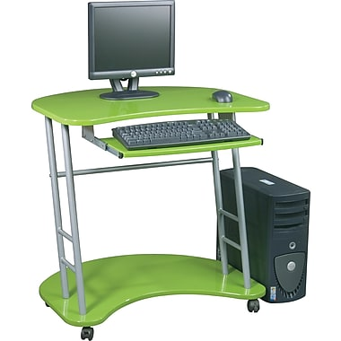 Office Star Kool Kolor Student Computer Desk, Green Apple