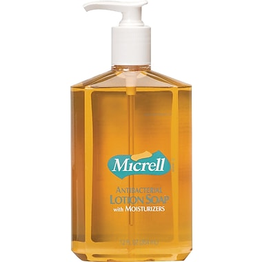 Micrell Antibacterial Hand Soap, Lemon Citrus, 12 oz.