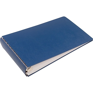 Wilson Jones 2in. Canvas-Look 11in. x 17in. Binder, Blue