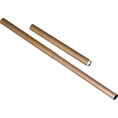 Kraft Plug-Seal Mailing Tubes, 3in. x 26in.