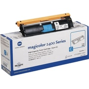Konica Minolta Cyan Toner Cartridge (1710587-007), High Yield