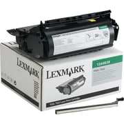 Lexmark Black Toner Cartridge (12A6839), High Yield, Return Program