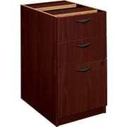 basyx by HON BL Series Pedestal File Cabinet, Mahogany