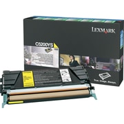 Lexmark Yellow Toner Cartridge (C5200YS), Return Program