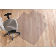 "Staples® Hard-Floor Chairmat, Traditional, 36"" x 48"""