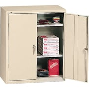 HON® Brigade®, 3-Shelf Assembled Storage Cabinets, 42H x 36W x 18D, Putty