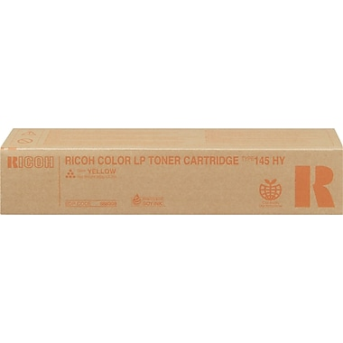 Ricoh 888309 Yellow Toner Cartridge, High Yield