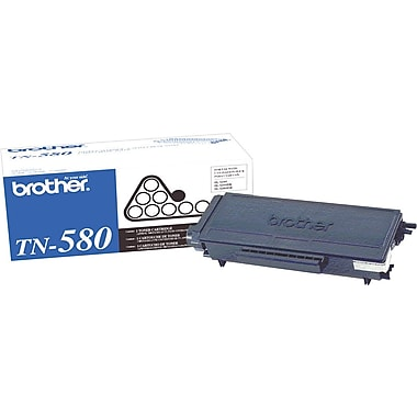 Brother TN580 Black Toner Cartridge, High Yield