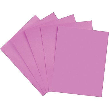 Staples® Brights 24 lb. Colored Paper, Purple