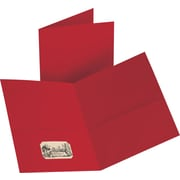Staples® 2-Pocket Folder, Red