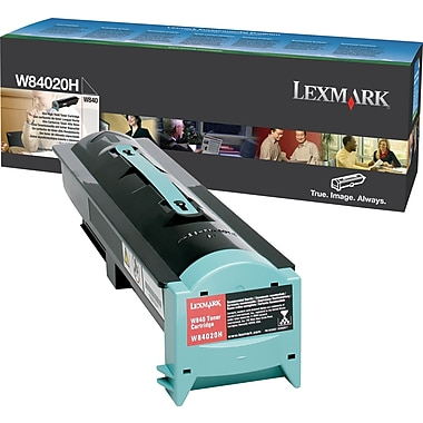 Lexmark W84020H Black Toner Cartridge