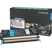 Lexmark Cyan Toner Cartridge (C5240CH), High Yield, Return Program