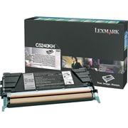 Lexmark Black Toner Cartridge (C5240KH), High Yield, Return Program
