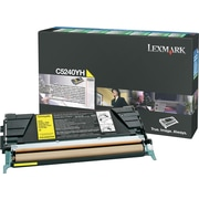 Lexmark Yellow Toner Cartridge (C5240YH), High Yield, Return Program