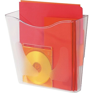 Deflecto® DocuPockets® Single Vertical Filing Portrait Pocket