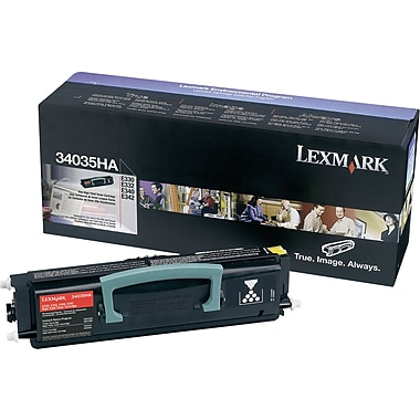 Lexmark 34035HA Black Toner Cartridge, High Yield