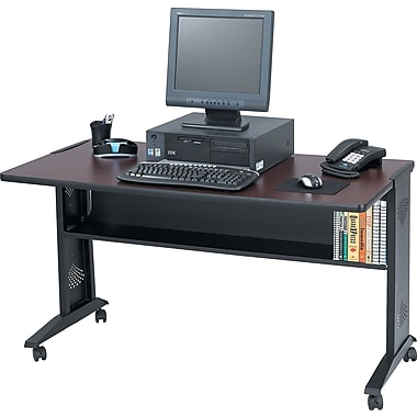 Safco 54in. Reversible Top Mobile Workstation