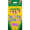 Crayola Write Start Colored Pencils, 8/CT