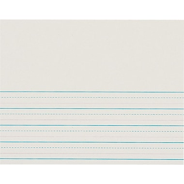Pacon® Ruled Spelling Paper; 4x10-1/2in.