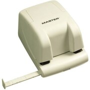 Master® EP210 Electric 2-Hole Punch, 12 Sheet Capacity/20 lbs., Beige