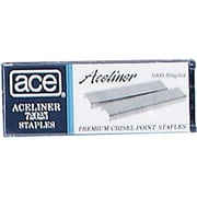 Ace Undulated Staples, 5,000/Bx