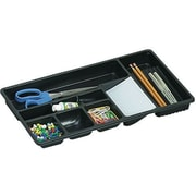 "Officemate® Drawer Tray, Black, 9"" H x 16"" W x 1.5"" D"