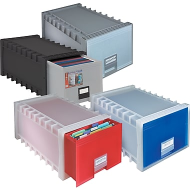 storexr stackable letter file drawers staplesr With storex stackable letter file drawers