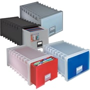 Storex® Stackable Letter File Drawers