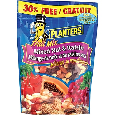 Planters Trail Mix Mixed Nuts & Raisins, 275 g