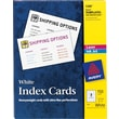 "Avery® 3"" x 5"" Laser & Inkjet Index Cards"