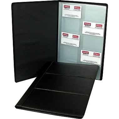 Staples Executive Business Card Holder 240 Card Capacity