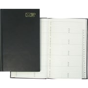 Winnable - Carnet d'adresses, 8 po x 5 po, noir