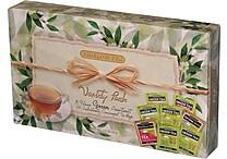 Bigelow® Green Tea Variety Pack Gift Box, Regular & Decaffeinated, 64 Tea Bags/Box