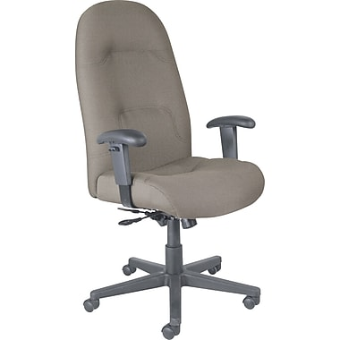 Staples® Executive Deluxe High-Back Tilt Chair, Tan