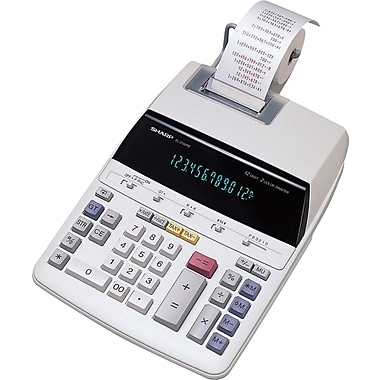 Sharp® EL2192RII 12-Digit Printing Calculator
