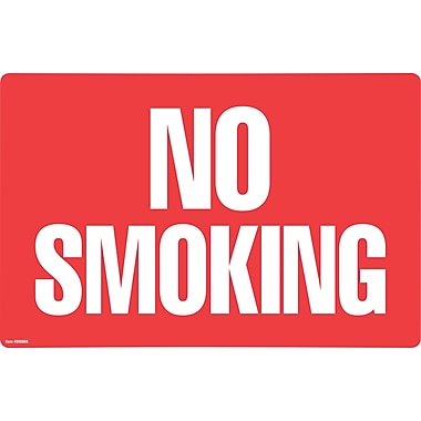 Cosco® No Smoking/No Fumar 8in. x 12in.