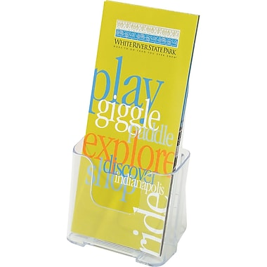 Staples® Acrylic Literature Holder, Leaflet Size