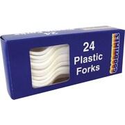 Goodtimes Plastic Forks, 24-Pack