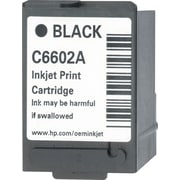 HP Black POS Ink Cartridge (C6602A)