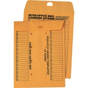 "Quality Park Envelopes Kraft Interoffice 10"" x 13"", 100/Box - Redi-Tac"