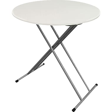 Iceberg 2' Personal Round Table, Platinum Granite DBM