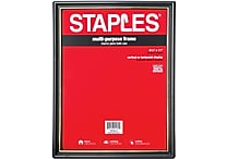 Staples® All-Purpose Frame, 8 1/2' X 11'