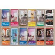 Safco® Reveal™ Displays, 12 Pamphlet Display