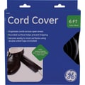GE Cord Cover, Black: 6' x 2.5in.