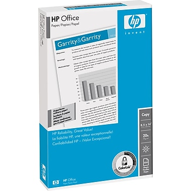 HP Office Paper, 8 1/2in. x 14in., Ream