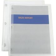 Simply™ Poly Report Covers, Clear, 5/Pack