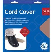 """GE Cord Cover, Tan: 10' X 2.5"""""""