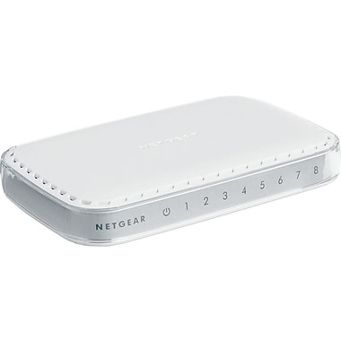 NETGEAR 8-Port Gigabit Ethernet Switch GS608NA